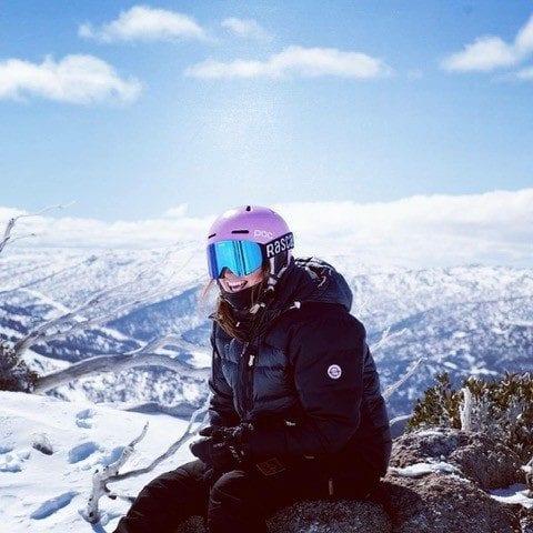 Lena May ski instructor