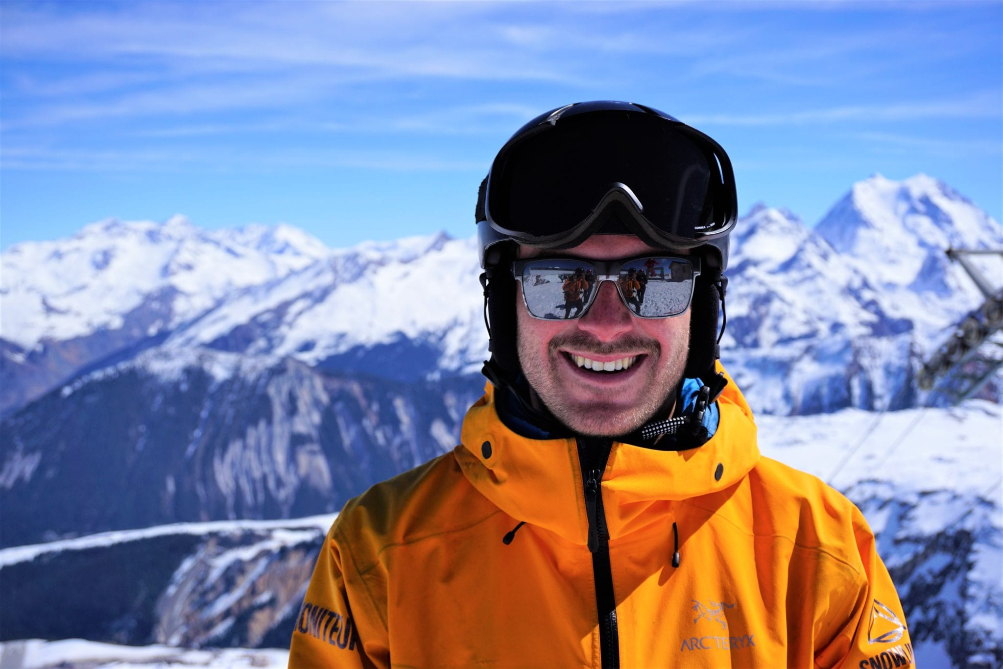 Huw Philips Ski Instructor