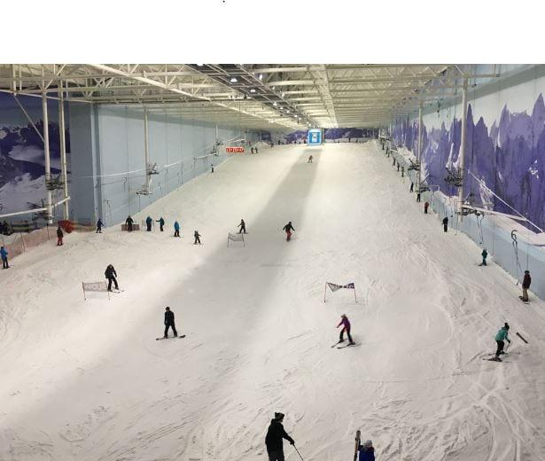 Chill Factor Indoor Skiing